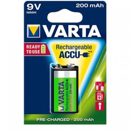 Accu 9V 200mAh VARTA