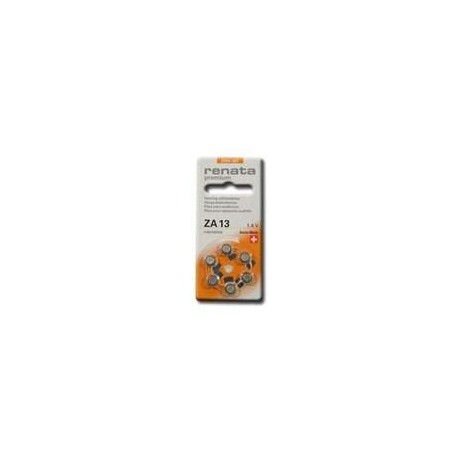 6 Piles auditives ZA13 Orange RENATA MARATONE