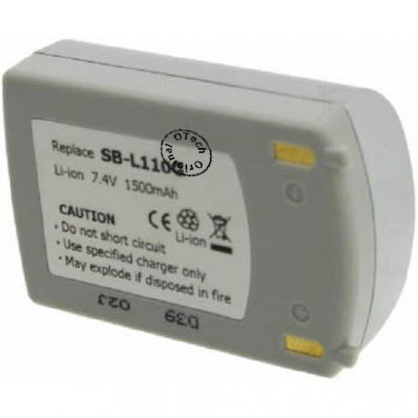 Batterie pour SB-L110G Silver.7.4V Li-Ion 1500mAh