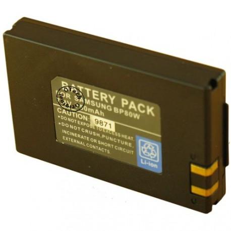 Batterie pour SAMSUNG BP80W 7.4V Li-Ion 700mAh