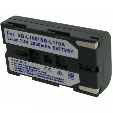 Batterie pour SAMSUNG SB-L160 Grey 7.4V Li-Ion 2100mAh