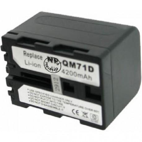 Batterie pour NP-FM50 7.4V Li-Ion 1500mAh