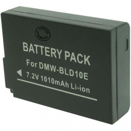 Batterie pour PANASONIC DMW-BLD10E / PP 7.2V Li-Ion 1010mAh