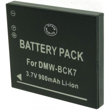Batterie pour PANASONIC DMW-BCK7 3.7V Li-Ion 900mAh