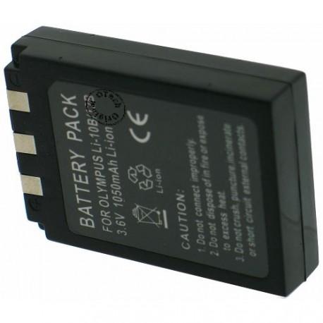 Batterie pour OLYMPUS LI-10B 3.7V Li-Ion 1100mAh