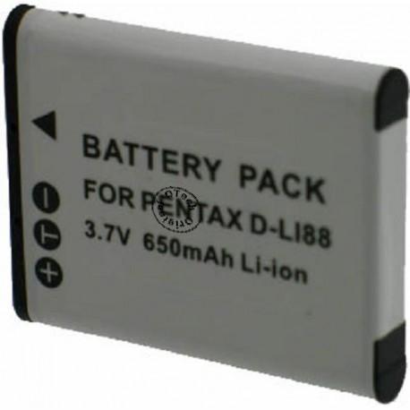 Batterie pour PENTAX DB-L80 3.7V Li-Ion 740mAh