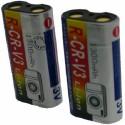 Batterie pour CRV3 2X3V / 3.6V Li-Ion 1300mAh