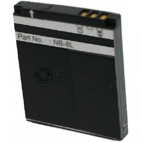 Batterie pour CANON NB-8L 3.7V 900mAh