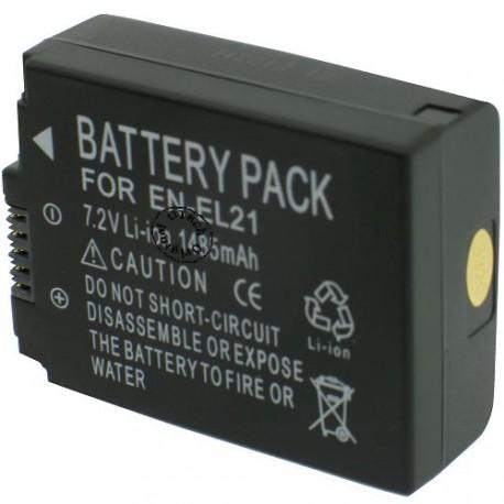 Batterie pour NIKON EN-EL21 7.2V Li-Ion 1485mAh