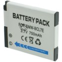 Batterie pour PANASONIC DMW-BCL7 3.6V Li-Ion 600mAh
