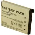 Batterie pour CASIO NP-60 3.7V Li-Ion 500 / 750mAh