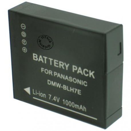 Batterie pour PANASONIC DMW-BLH7 7.2V Li-Ion 680mAh