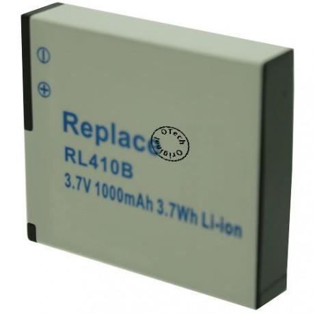 Batterie pour ROLLEI RL410B 3.7V Li-Ion 1000mAh