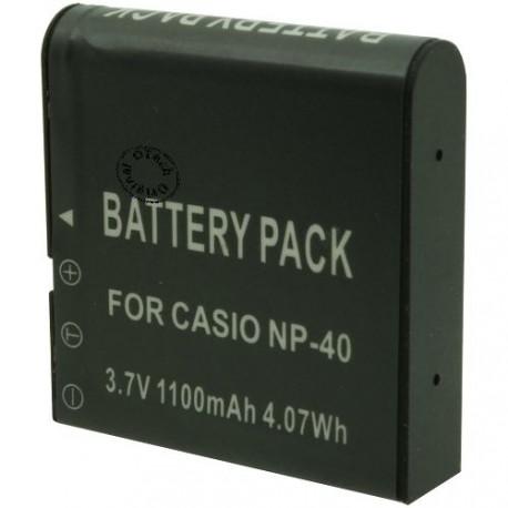 Batterie pour CASIO NP-40 3.7V Li-Ion 1200mAh