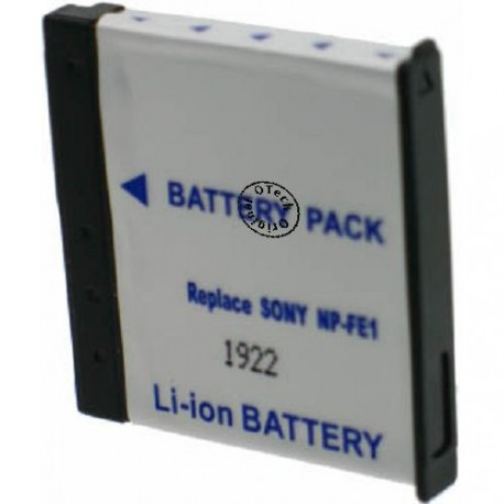 Batterie pour NP-FE1 3.7V Li-Ion 650mAh