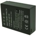 Batterie pour FUJIFILM NP-W126 7.4V Li-Ion 1100mAh