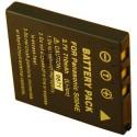 Batterie pour PANASONIC DMW-BCB7 / S004E 3.7V Li-Ion 750mAh
