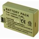 Batterie pour CANON LP-E5 7.4V Li-Ion 1080mAh