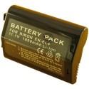 Batterie pour NIKON EN-EL4 (prix net)11.1V Li-Ion 1800mAh