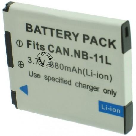Batterie pour CANON NB-10L 7.4V Li-Ion1000mAh