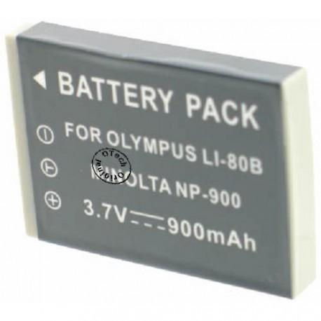 Batterie pour MINOLTA NP-900 3.7V Li-Ion 650mAh