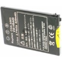 Batterie pour VW-VBA05 Black 3.7V Li-Ion 500mAh