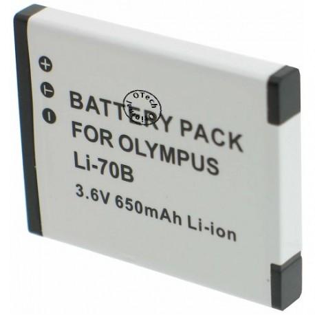 Batterie pour OLYMPUS LI-70B 3.7V Li-Ion 700mAh