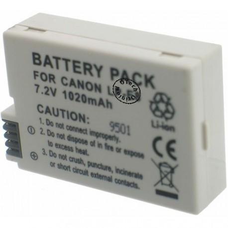 Batterie pour CANON LP-E8 7.4V Li-Ion 1200mAh