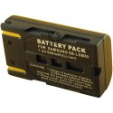 Batterie pour EI-D-LI1 Black 7.4V Li-Ion 1800mAh