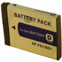 Batterie pour SONY BD1 3.7V Li-Ion 650mAh