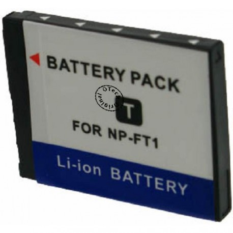 Batterie pour NP-FT1 3.7V Li-Ion 800mAh