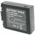 Batterie pour PANASONIC DMW-BM7 / S002E 7.4V Li-Ion 650mAh