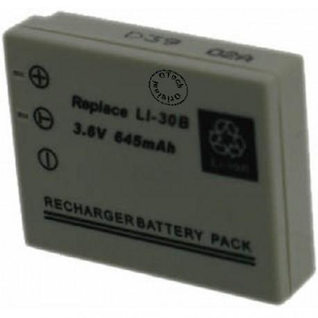 Batterie pour LI-30B Grey 3.6V Li-Ion 600mAh