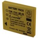 Batterie pour FUJIFILM NP-40 3.7V Li-Ion 850mAh