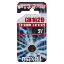 Pile bouton CR1620 Lithium 3V MAXELL