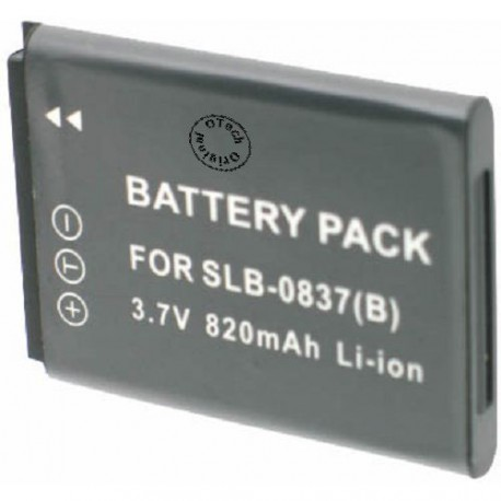Batterie pour SAMSUNG SLB-0837 3.6V Li-Ion 850mAh