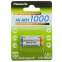 2 Accus AAA 1000 HR 4U 2BP PANASONIC