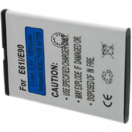 Batterie pour NOKIA E61i / E90 / N97 / BP-4L 3.7V Li-Ion 1500mAh