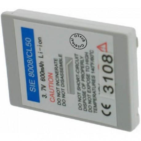 Batterie pour SIEMENS CL50 3.6V Li-Ion 600mAh
