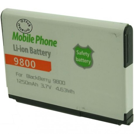 Batterie pour BLACKBERRY 9800 3.7V Li-ion 1250mAh