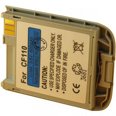 Batterie pour SIEMENS CF110 silver 3.6V Li-Ion 600mAh