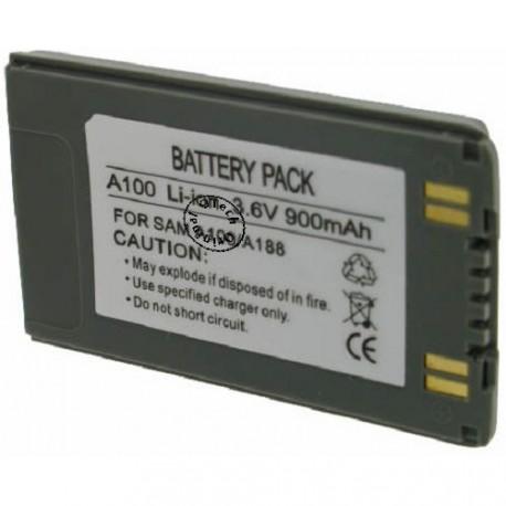 Batterie pour SAMSUNG A188 / A100 3.6V Li-Ion 1200mAh